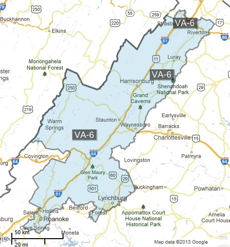 Virginia Sixth Congressional District
